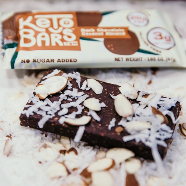 Keto Bars Dark Chocolate Coconut Protein Bar on SwitchGrocery