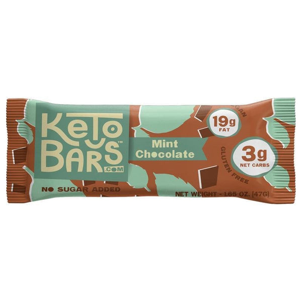 Keto Bars Chocolate Mint on SwitchGrocery