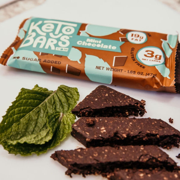 Keto Bars Mint Chocolate Low Carb Bars on SwitchGrocery