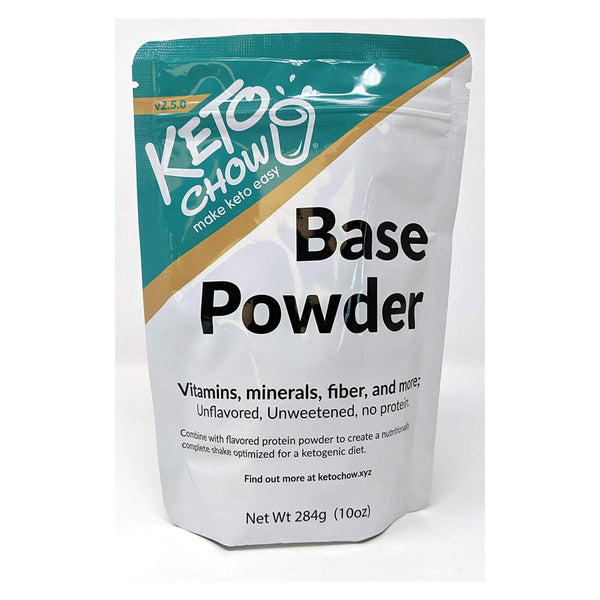 Keto Chow - Base Powder (21 serving bag)