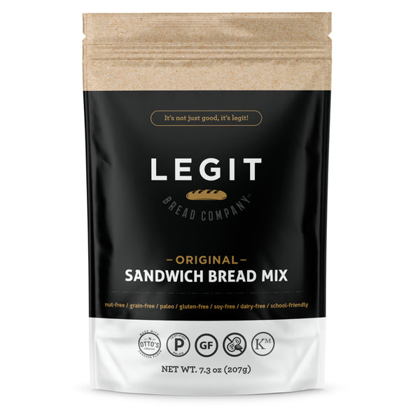 Legit Bread Company Original Bread Mix Front on SwitchGrocery