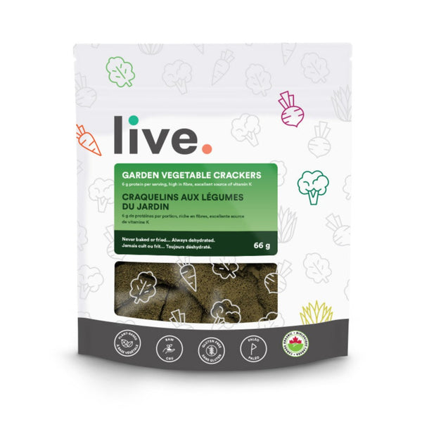Live Garden Vegetable Grain Free Crackers on SwitchGrocery