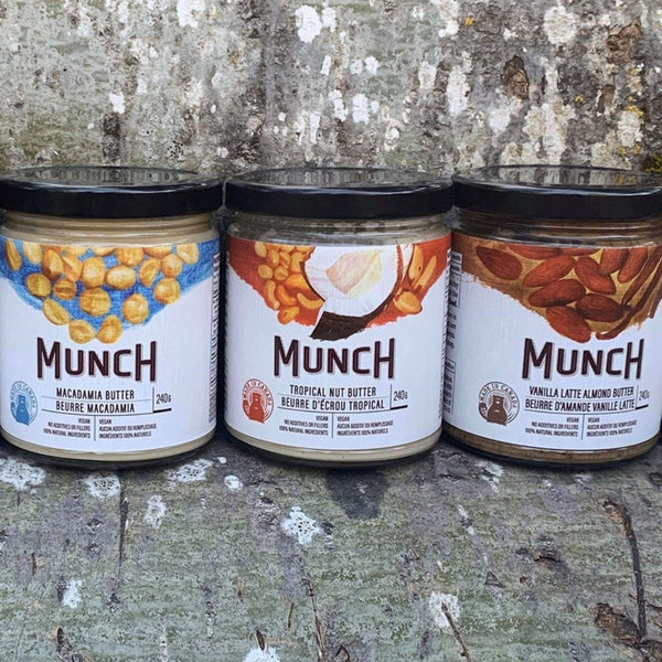 Canadian Nut Butter Lover - Munch Life Tasting Bundle