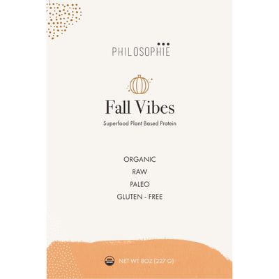 Philosophie Fall Vibes: Pumpkin Pie Superfood Protein - 8oz