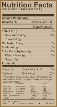 Philosophie Cacao Magic nutrition facts on SwitchGrocery Canada