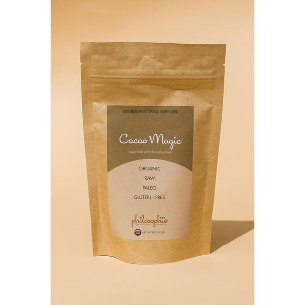 Philosophie 16oz Cacao Magic Paleo Vegan and Keto Friendly Protein Powder available on SwitchGrocery Canada