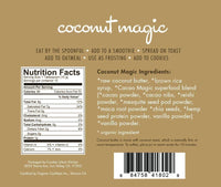 Philosophie Coconut Magic Paleo Vegan and Keto Friendly Protein packed coconut butter nutritionals available on Switch Grocery Canada
