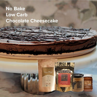 RecipeMonday_ChocolateCheesecake_SwitchGrocery_Philosophie Cacao Magic_Coco Polo_LeesGhee_KetoFriendly_lowcarb