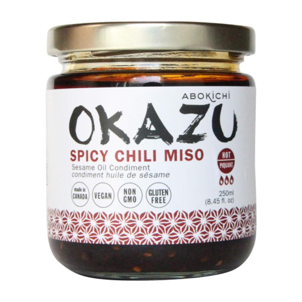 Shop Abokichi Spicy Chili Miso Sauce Low Carb Condiment available on Switch Grocery Canada