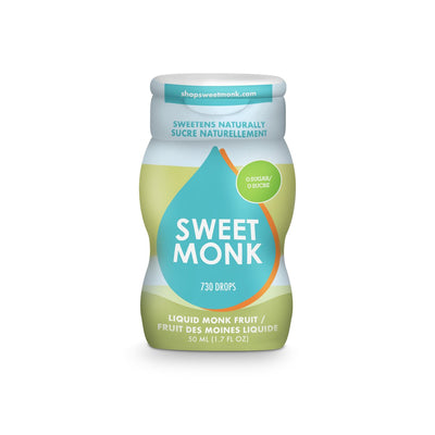 SweetMonk - Liquid Monk Fruit Sugar Alternative
