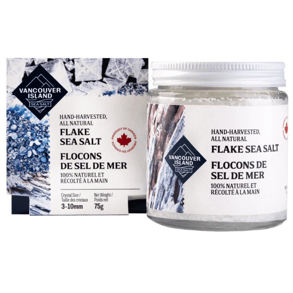 Vancouver Island Salt Co. - Sea Salt Flakes - 75g