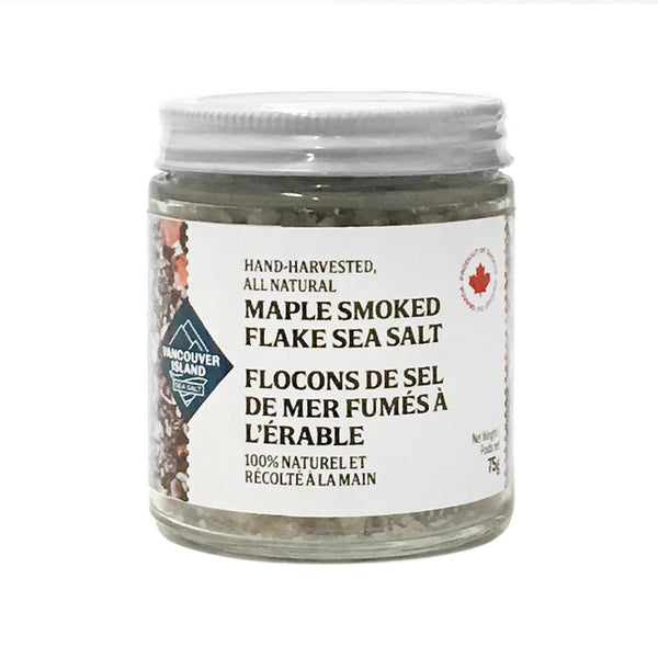 Vancouver Island Sea Salt maple smoked salt on SwitchGrocery Canada