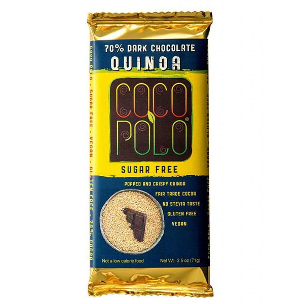 SwitchGrocery Coco Polo Crispy Quinoa - 70% Dark Chocolate