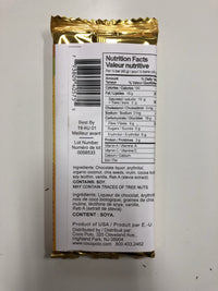 SwitchGrocery Coco Polo Toasted Coconut and Chia - 70% Dark Chocolate nutrition