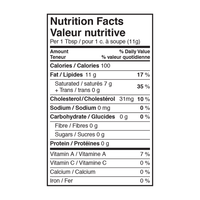 Lee's Brown Butter Ghee nutrition facts
