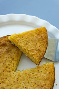 Make gluten free Yellow Snack Cake with Good Dee's yellow snack cake baking mix