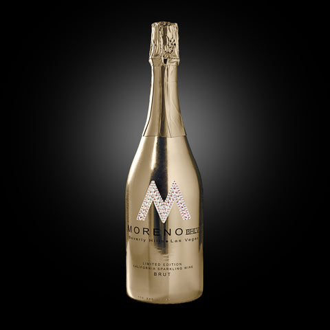"Metallic ""M"" Bottles"
