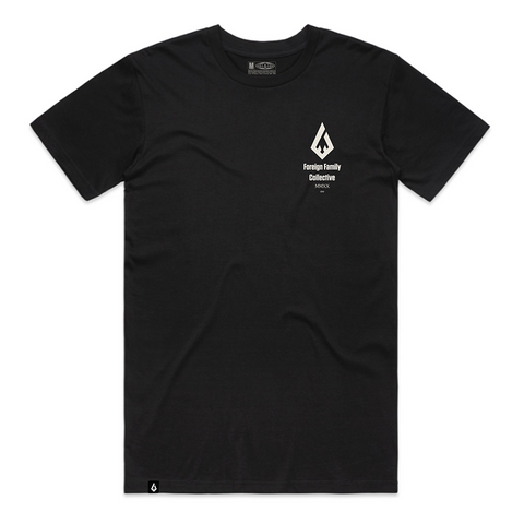Foreign Family Collective 5 Year Anniversary T-Shirt (Black)