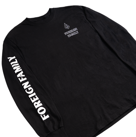 Limited Foreign Family Black Long-Sleeve