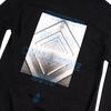 2018 Limited Foreign Family Graphic Long Sleeve Tee - Black