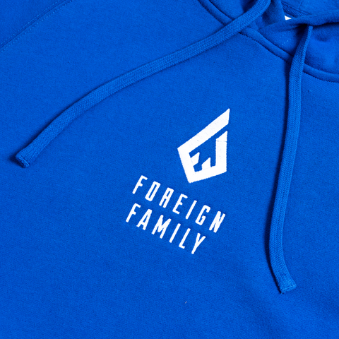 FFC Embroidered Hoodie (Blue)
