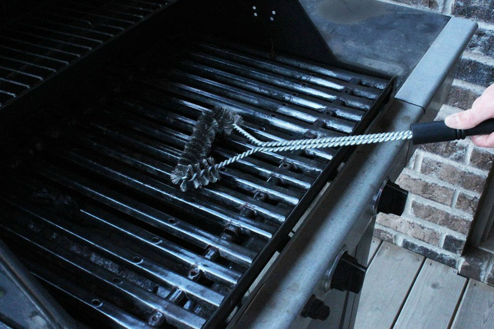 3-Sided Grill Brush