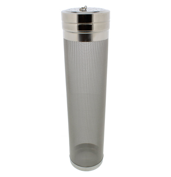 Stainless Steel 300 Micron Brewing Hopper Filter – Dry Hops Beer Brew