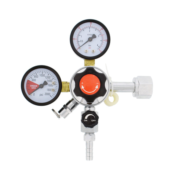Dual Gauge CO2 Kegging Regulator