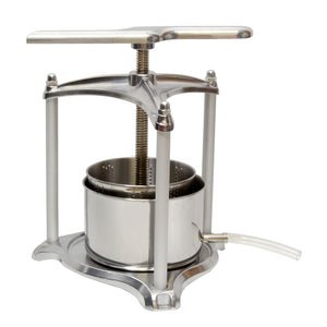 3L Fruit Press – Grape Press for Wine Making Fruit Crusher Wine Press
