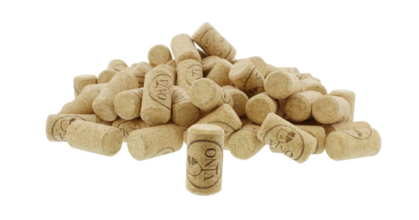 Cork 100-Pack – Synthetic Straight #9 Wine Bottles Stoppers