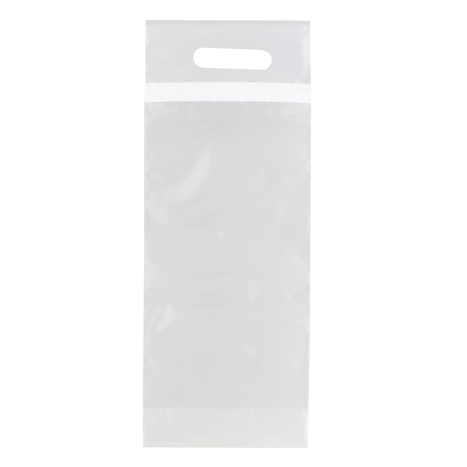 Sealable Wine Bag – 50 Pk Clear Plastic Bags for Wine Bottles