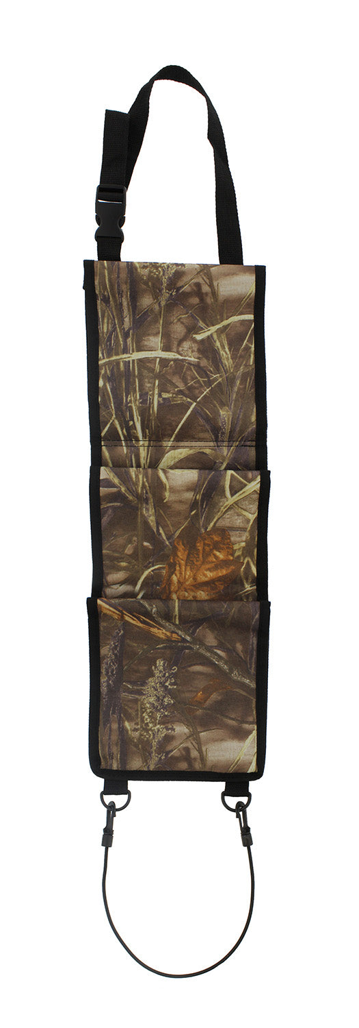 Concealed Seat Back Gun Rack Sling Pair in Camo for 3 Rifles Shotguns