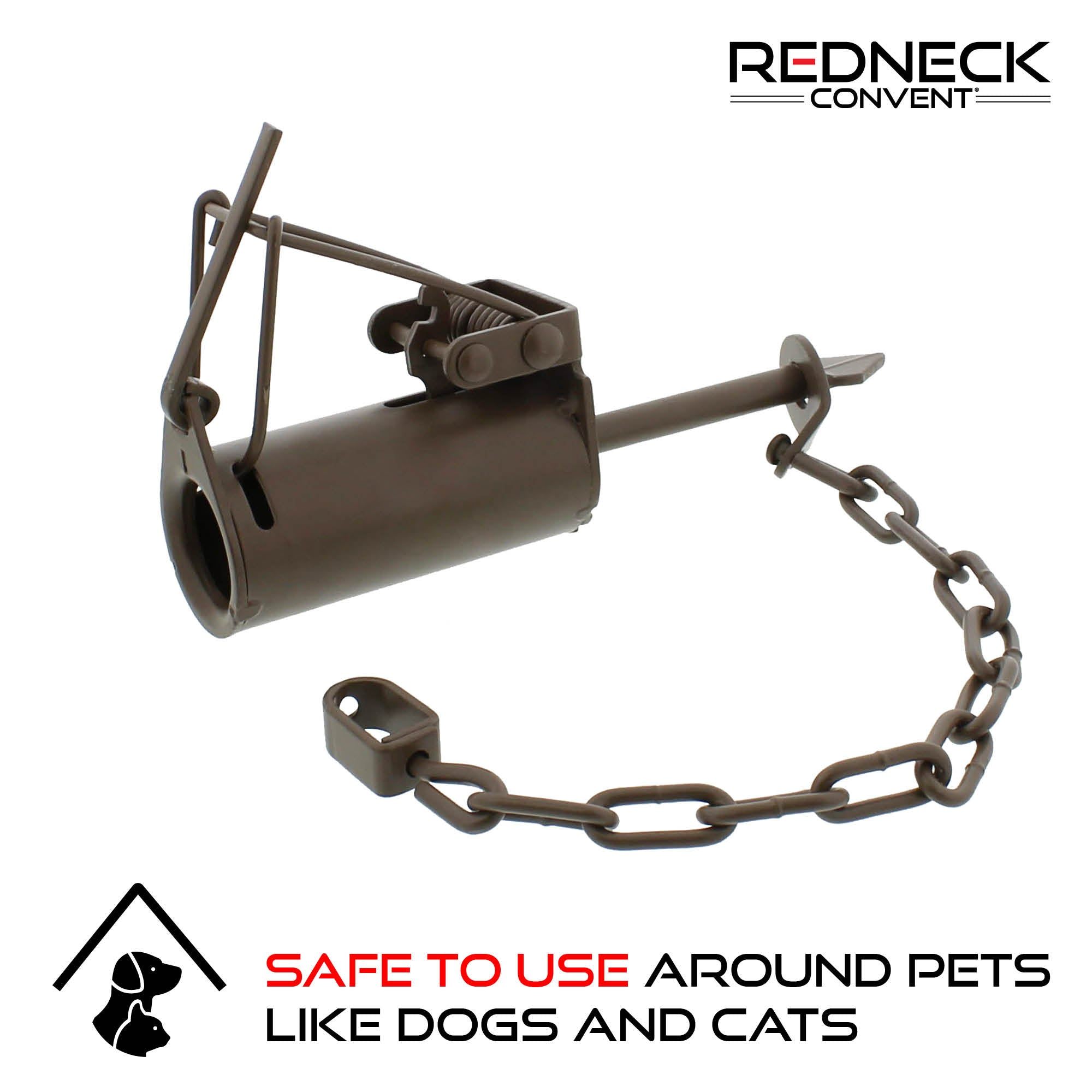 Dog-Proof DP Animal Leg Trap 1-Pack, Pet-Safe / Pet-Friendly