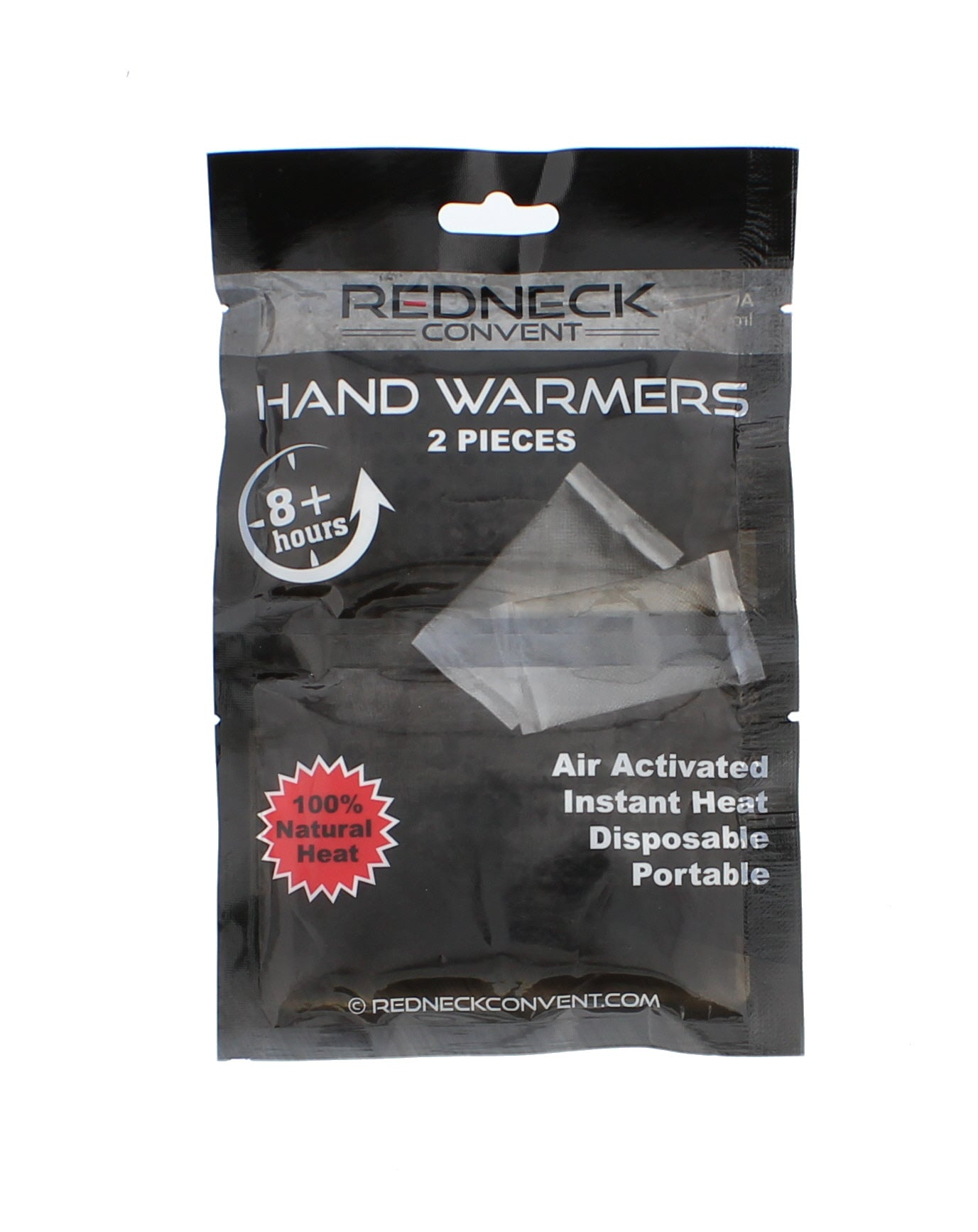 Hand Warmers - 20-pair, 8 Hour Powerful Heat, Air Activated Non-toxic