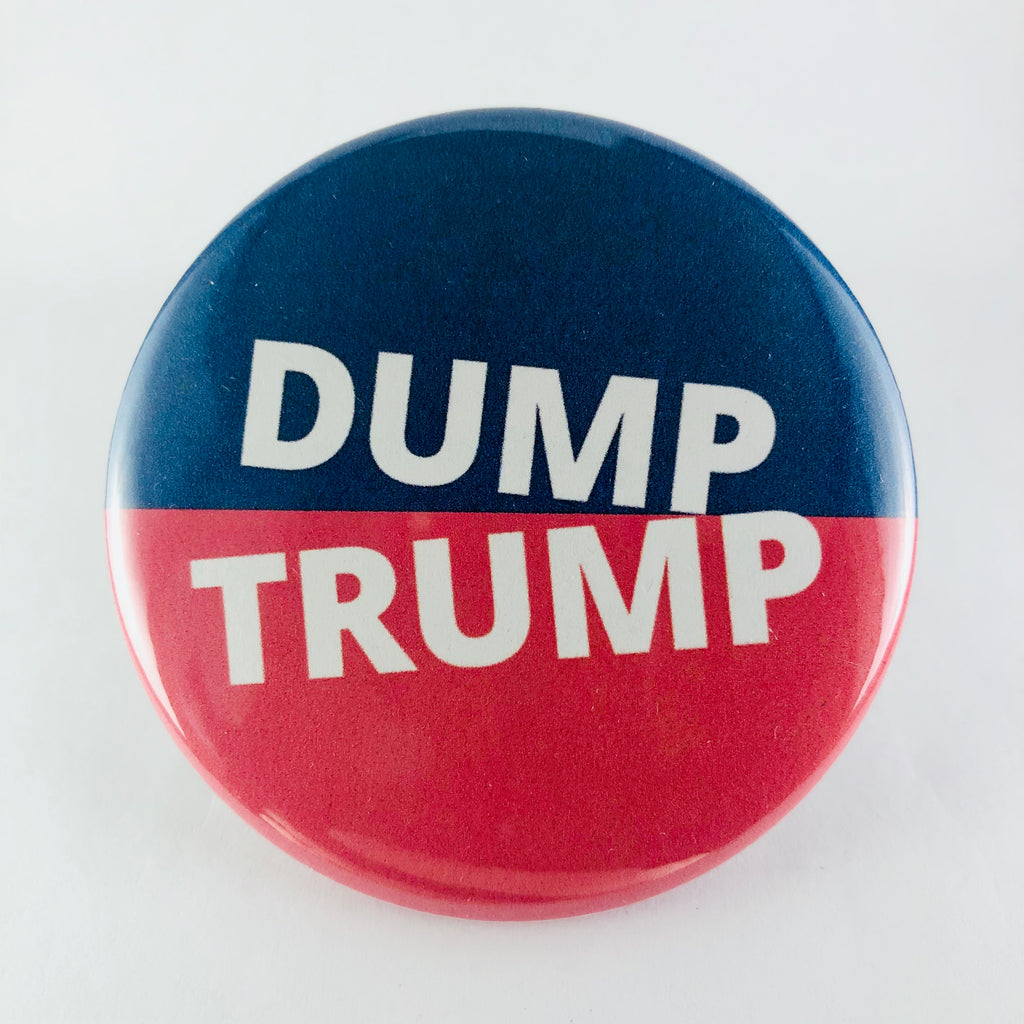 "Magnet: ""Dump Trump:"" Blue & Red"