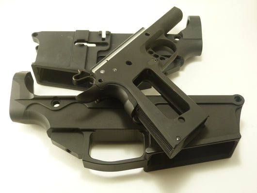 DD AR-15, AR-10, and 1911 80% Lowers Available in Hard Black Anodized, and/or Bead Blasted