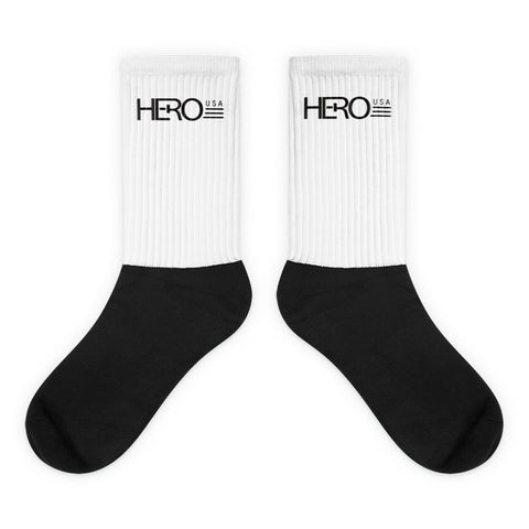 Black foot socks - HERO USA