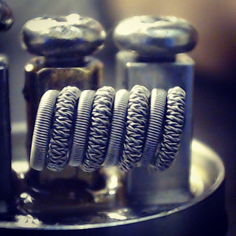 Zen Vape Edmonton Pre build Coil Alien Clapton Wire Spools replacement coil