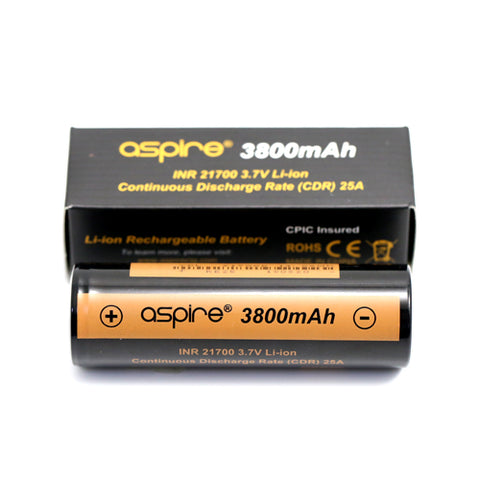 Aspire 21700 Battery 3800mAh