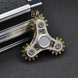 Nine Gear Teeth Fidget Spinner