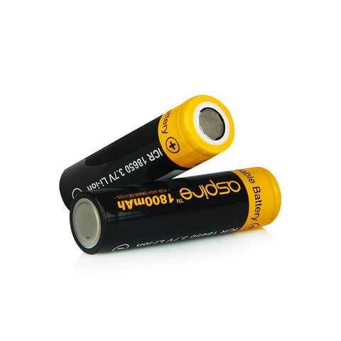 Aspire 40A 1800mAh Battery 18650 Zen Vape Edmonton Shop
