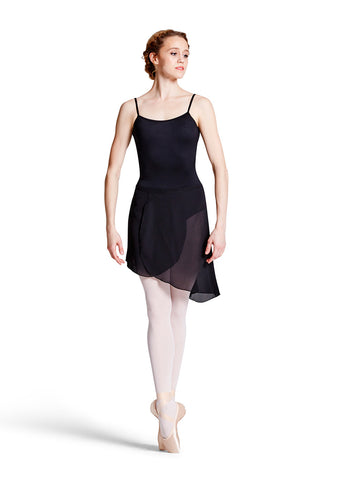 Maroney High Low Wrap Skirt by Bloch