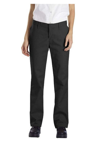 Relaxed Fit Flat Front Pants