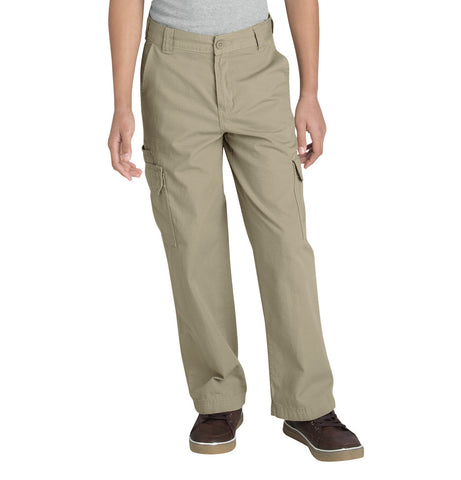 Relaxed Fit Straight Leg Ripstop Cargo Pants