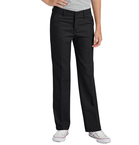 Flex Slim Fit Straight Leg Flat Front Pants