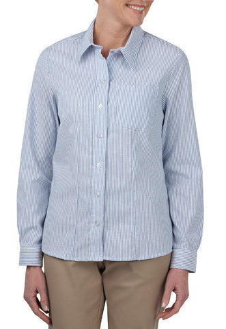 Long Sleeve Stretch Wrinkle Resistant Oxford Shirt