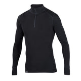 Woolies 1 Zip T-Neck Shirt