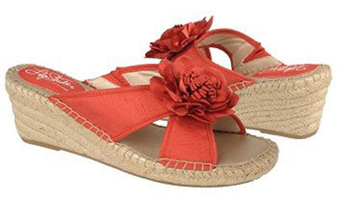 Bloom Wedge Sandals