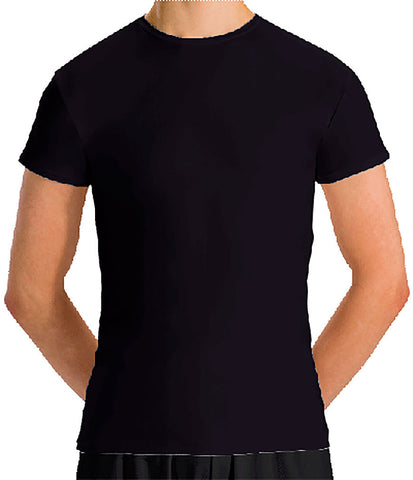 Cap Sleeve Fitted T-Shirt