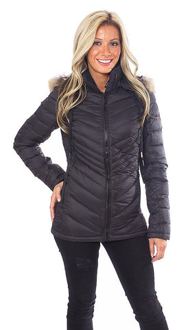 Charlotte Mid Length Jacket